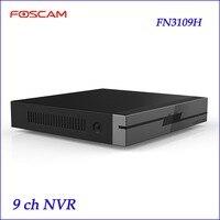 Newest Foscam NVR FN3109H 9 CH HD IP Cameras Input H 264 MJPEG ONVIF Cameras Supported