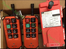 industrial remote controller  switches 2 transmitter + 1 receiver Industrial remote control electric hoist