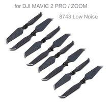 Hélices de poco ruido originales 8743, accesorios de cuchilla para Dron DJI MAVIC 2 PRO/ ZOOM reemplazos plegables DJ0001