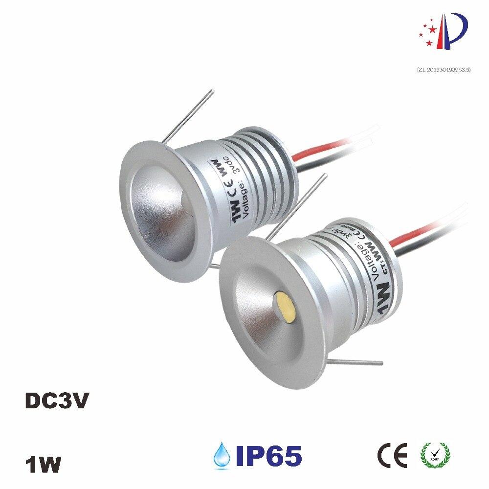 1W Mini Lighting Input DC3V 300mA 25mm Cutout Led Downlight 60D 120D CE ROHS Home Decoration
