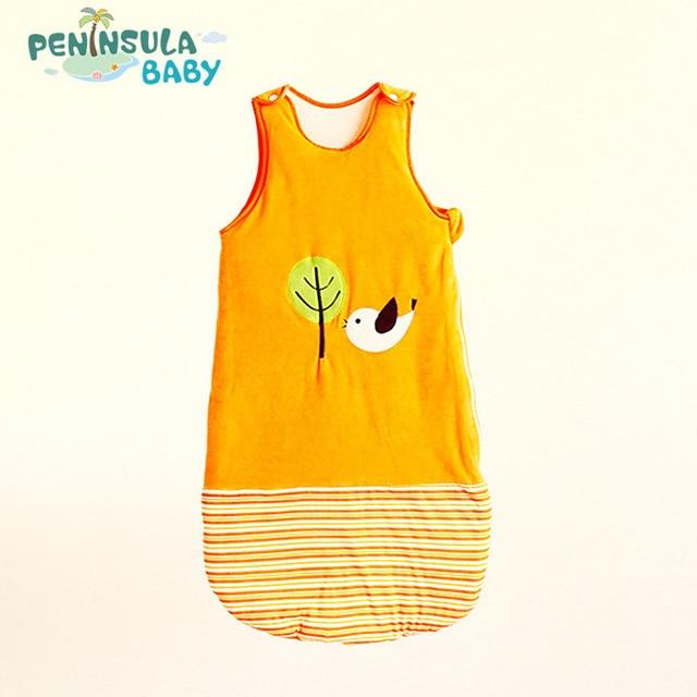 Baby Sleeping Bag Baby Cartoon Blanket Candy Sleeveless Winter Newborn Clothing Cute Animal bimba bag skip zoo