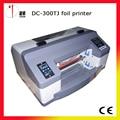 DC-300TJ digital foil hot stamping machine, digital foil impresora, máquina de impresión digital de estampado, plateless impresora