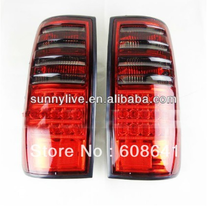 Prado 4500 Land cruiser LC80 FJ80 LED Rear Lamp 1990-97 year Red Black Color