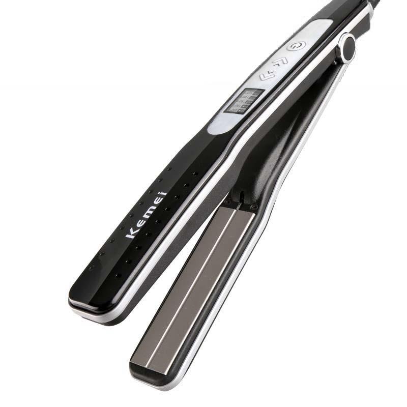 Kemei KM-8811 wet and dry hair straightener