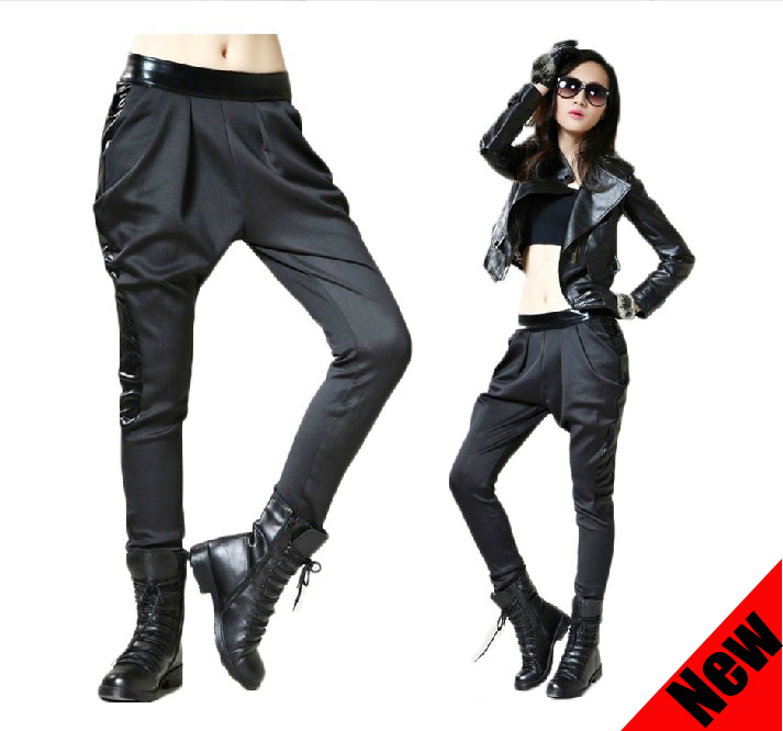 2013 New Women Fashion Loose Casual Plus Size Punk Low