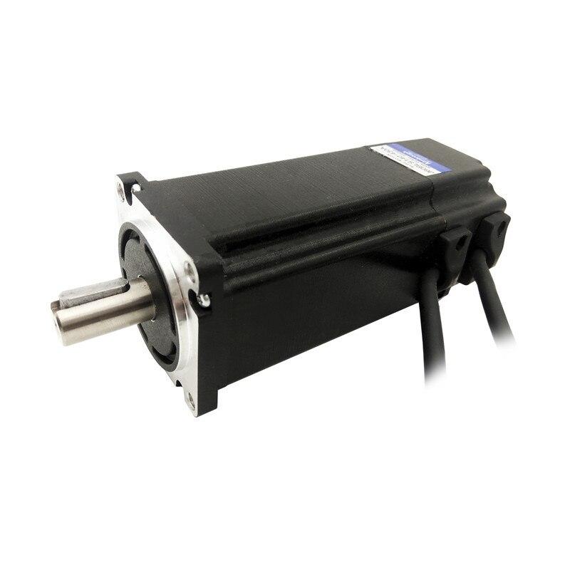 БКЭПТ Frame 60 мм 48 В 3000 об./мин. 400 Вт 1.25N.m J60BLS140-430A бесщеточный двигатель постоянного тока 3 фазы длина тела 140 мм