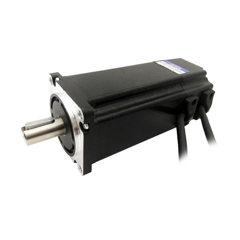 Cadre de moteur BLDC 60mm 48 V 3000 tr/min 400 W 1.25N.m J60BLS140-430A moteur à courant continu sans brosse 3 phases longueur du corps 140mm