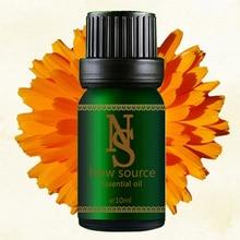 купить 100% pure plant base oil Essential oils skin care Marigold Oil Calendula Oil 10ml Anti-inflammatory Moisturizing дешево