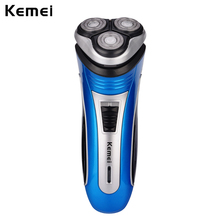 Triple Floating Blade Head Rechargeable Electric Shaver Razor Face Care Beard for Men beard trimmer clipper shaving machine 35
