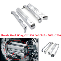 Chrome Motorcycle Engine frame Side Cover case for Honda Gold Wing GL1800 F6B Trike 2001 2017 Valkyrie 2014 2015
