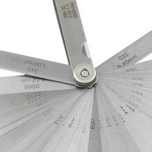 32 шт./компл. 0,02-1,0 мм лезвие мастер щупа из нержавеющей стали измерительный инструмент набор Высокое качество MAL999