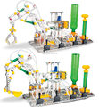 Ferro controle escala modelo liga de metal de montagem kits brinquedos educativos, Veículo de 2 estilos misturados