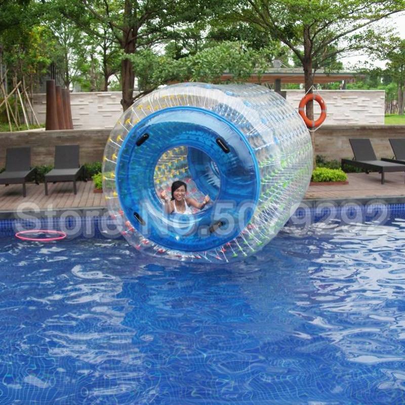 Livraison gratuite rouleau d'eau gonflable 1.0MM boule de roulement de l'eau pour piscine Top qualité roulement balle/rouleau roue boule d'eau