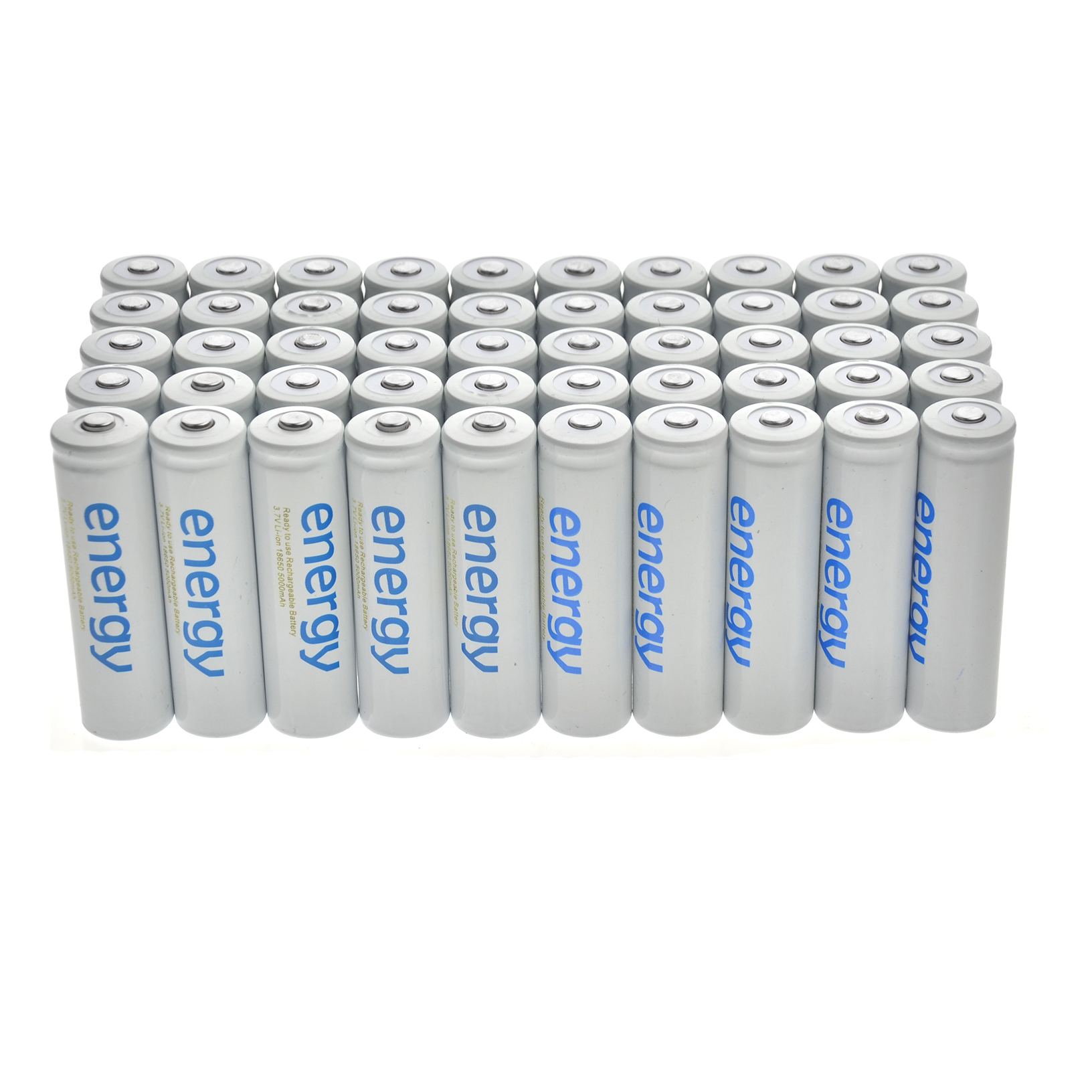 2-100pcs 18650 3.7V 5000mAh Li-ion Rechargeable Battery Cell For Flashlight USA