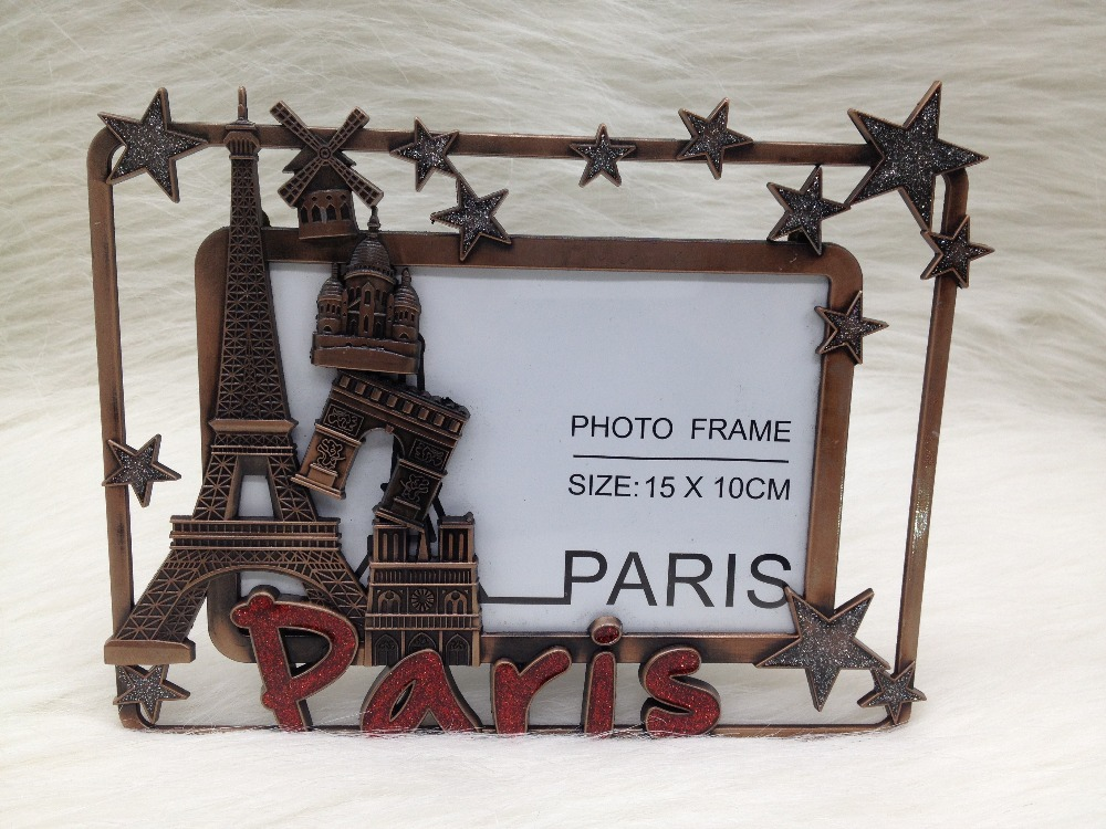 Aliexpress.com : Buy Wedding Favors Antique Tin Eiffel Tower With ...