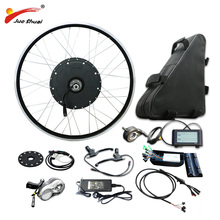 Powerful 26 700C Rear Motor Wheel 48V 1000W Electric Bike Conversion Kit 48V 20AH Lithium Battery E Bike Electric Bike  Kit pasion e bike conversion kits with battery 48v 1500w hub motor rear wheel motor electric bike kit 52v 12 8ah e bike battery