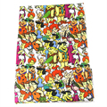 David accessories50*145cm Cartoon patchwork Polyester cotton fabric for Tissue Kids Bedding home textile for Sewing Tilda,1Yc480