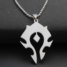 2017 New World of Warcraft Necklace Game World of Warcraft Tribal symbol Sweater chain