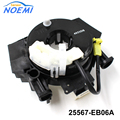 NEW Spiral Cable Clock Spring For Qashqai J10, X-Trail T31 OEM 25567-EB06A 25567JE00E 25567-EV06E 25567-1DA0A