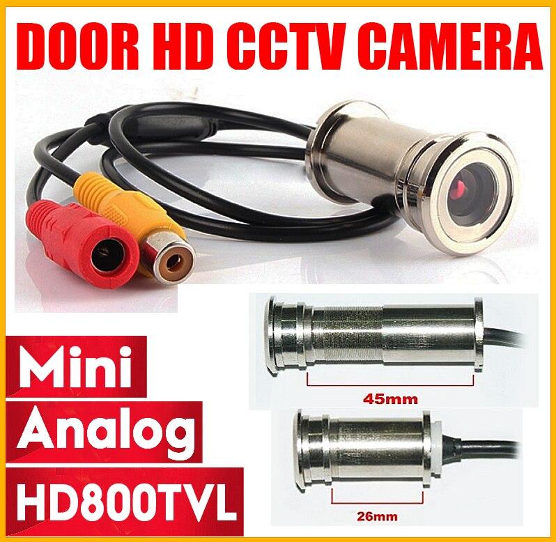 3,28 BigSale HD 800TVL ojo de gato puerta agujero de seguridad de Color de la cámara CMOS 3,6mm mirilla cctv seguridad Video vigilancia mini cámara
