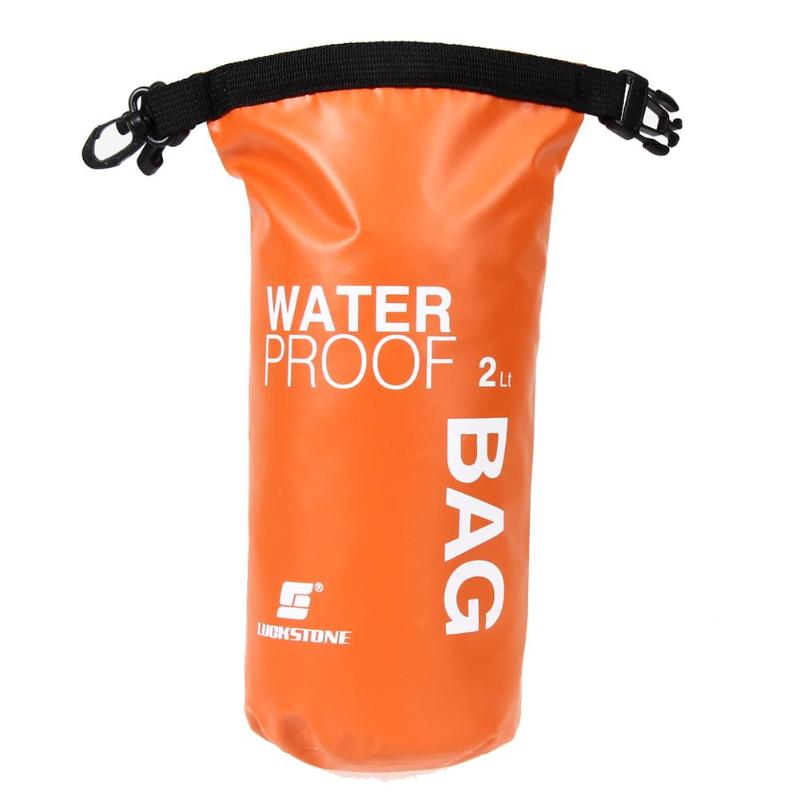 2L Sports Waterproof Dry Bag Backpack Floating Boating Kayaking Outdoor Camping