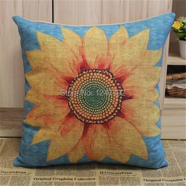 Popular Sunflower Pillow Buy Cheap Sunflower Pillow Lots
