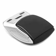 SeenDa Wireless Mouse 2.4G Computer Mouse Foldable Travel Notebook Mute Mouse Mini Mice USB Nano Receiver for Laptop PC Desktop