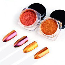 T-TIAO CLUB Mirror Nail Powder Holographic Glitter Sequins Dust For Art DIY Manicure Decorations