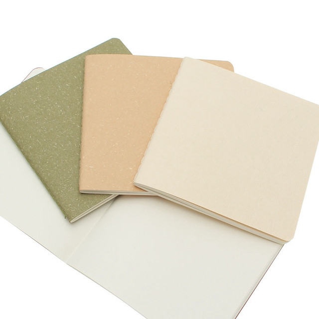 Retro Style Solid Color 30-Sheet Notebook