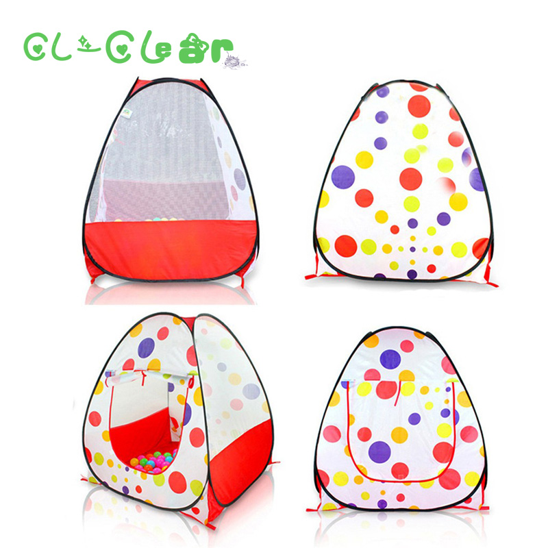 Baby Play Tent Child Kids Indoor Outdoor House Large Portable Ocean Balls Great Gift gam ...
