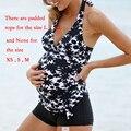 Горячие Моды Материнства Купальники Беременные Женщины Покрывают Живот Тонкий Спа Бикини Беременная Удобная Боксер Купальники