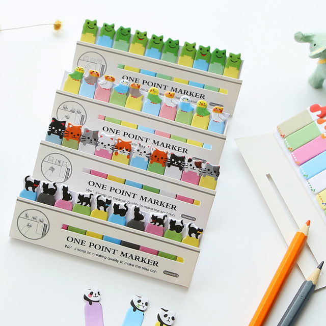 Kawaii Japanese Post It Scrapbooking Stickers