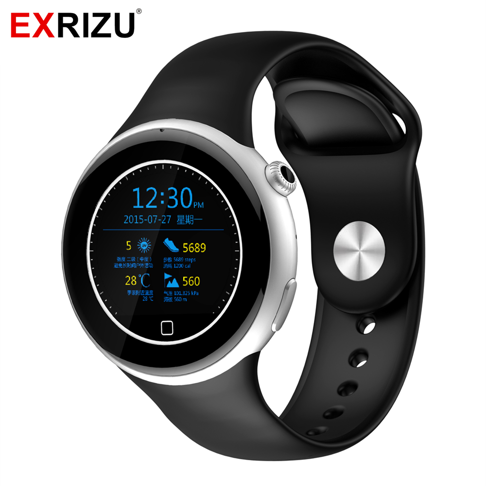 EXRIZU C5 Sport Bluetooth Smart Watch MTK2502C Waterproof Pedometer SIM Card Smartwatch for iOS Android Outdoor Camping Hiking floveme q5 bluetooth 4 0 smart watch sync notifier sim card gps smartwatch for apple iphone ios android phone wear watch sport