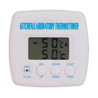 Digital LCD Display Food Thermometer Cooking Kitchen BBQ Probe Meat