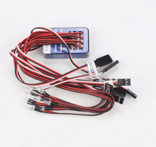 TAMIYA 12 LED Simulation Lights Smart System Flash Lighting For RC 1/10 Scale Models RC Car Tank Free Shipping