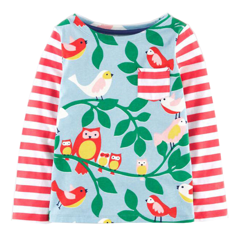 b205df3ba6ef ... Meters Baby Girls Tops 2018 Brand Children T shirts for Girls Clothes  Animal Flower Girl T-shirts Tees Kids Clothing - Best Kids Clothing Stores  Online