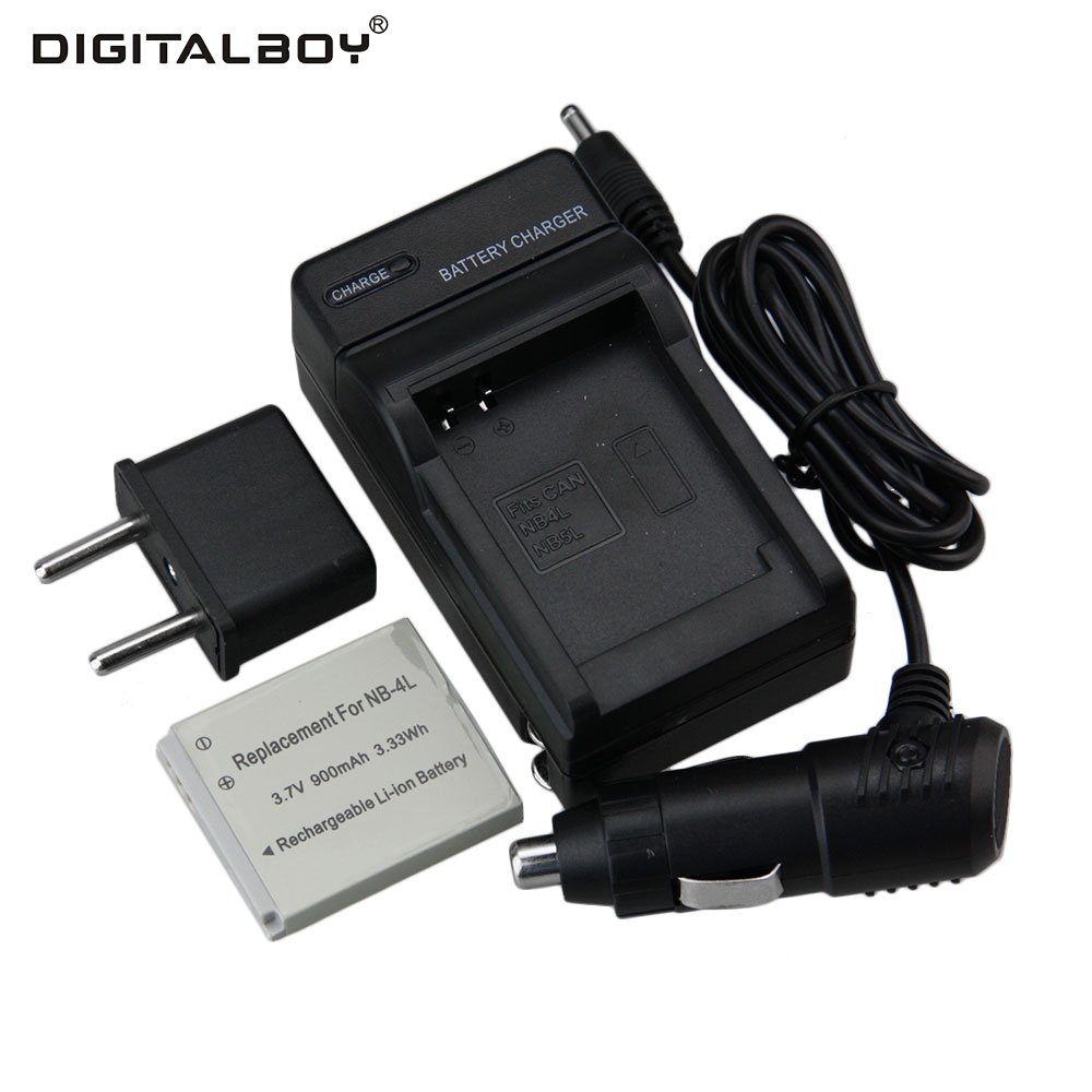 Hot 1pcs Battery Charger Nb 4l Nb 4l Nb 4l Rechargeable