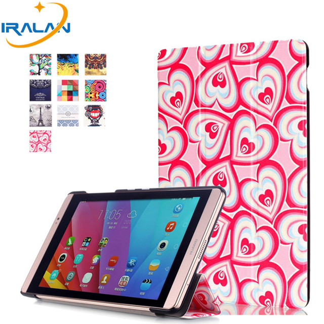 super popular 18729 27c8b US $7.47 32% OFF|2018 hot Tablet Case For Amazon Kindle Fire HD 10 2017  10.1 INCH Ultra Thin Tri Folding PU Leather Smart Cover+Screen film+ pen-in  ...