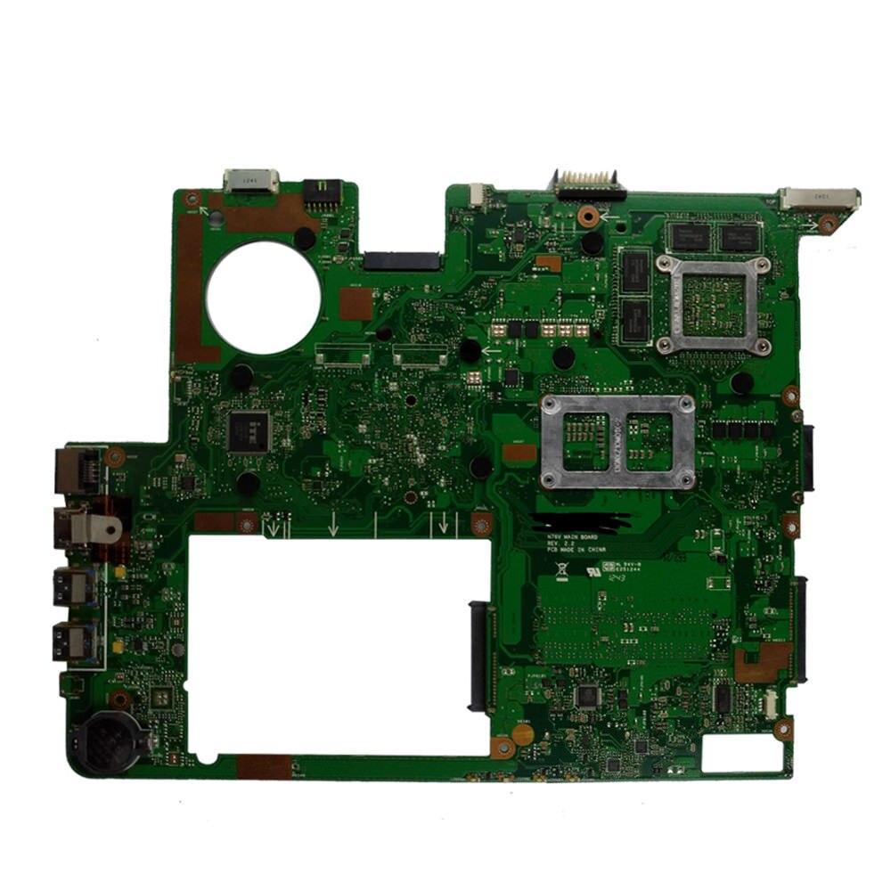 N76VZ Motherboard GT650M/740M  2G For ASUS N76V N76VM N76VZ Laptop Motherboard N76VZ Mainboard N76VZ Motherboard Test 100% Ok