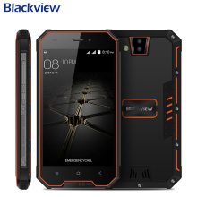 Orginal Blackview BV4000 PRO IP68 Waterproof Cell Phone 2GB RAM 16GB ROM 4.7″ MT6580A Quad Core Android 7.0 3685mAh Smartphone