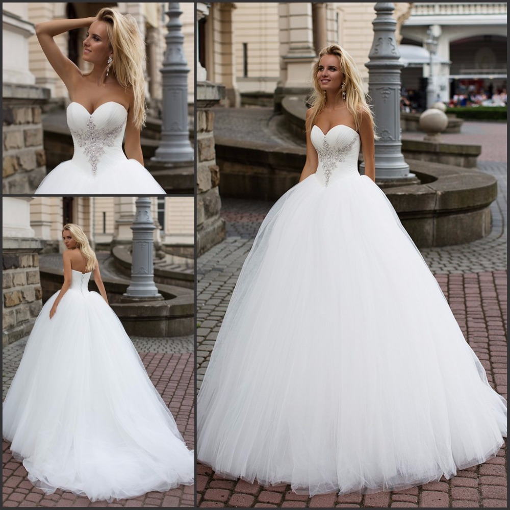 Popular pretty wedding dresses buy cheap pretty wedding for Pretty ball gown wedding dresses