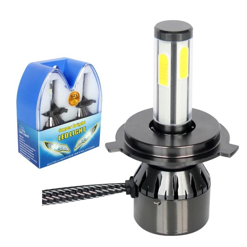 Turbo H7 LED Mini H7 LED Canbus LED Phares Ampoule Voiture H4 H11 H1 H3 12V Phare H27 Lumière Voiture H8 9005 9006 H15 HB3 HB4 Lumières