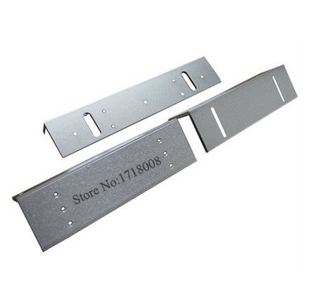 280ZL ZL Bracket Use With 280kg(600lbs) Electronic Magnetic Lock For Narrow Door / Access Control System