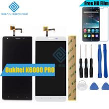 "Für Oukitel K6000 Pro 100% Original LCD Display und TP Touch Screen Digitizer Assembly + Tools 5,5 ""1920×1080 P Oukitel K6000 Pro"