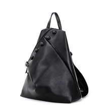 Новинка 2017 года Рюкзаки Дамские туфли из PU искусственной кожи школьная сумка Обувь для девочек Женский черный дорожная сумка SAC DOS Для женщин кожаный рюкзак Mochila