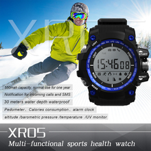 Smartch Sport Round Smart watch XR05 IP68 Waterproof Long standby time 1 Year for Samsung Huawei Sony Xiaomi