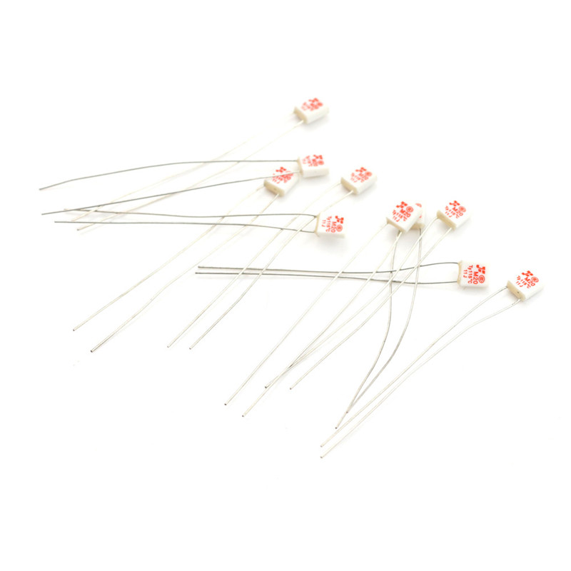 10Pcs New M20 TF 115℃ Thermal Fuse 250V 2A*y