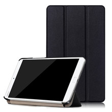Tempered Glass Screen Protector Film + PU Leather Stand Cover Case for Huawei Mediapad M3 BTV-W09 BTV-DL09 8.4 inch tablet