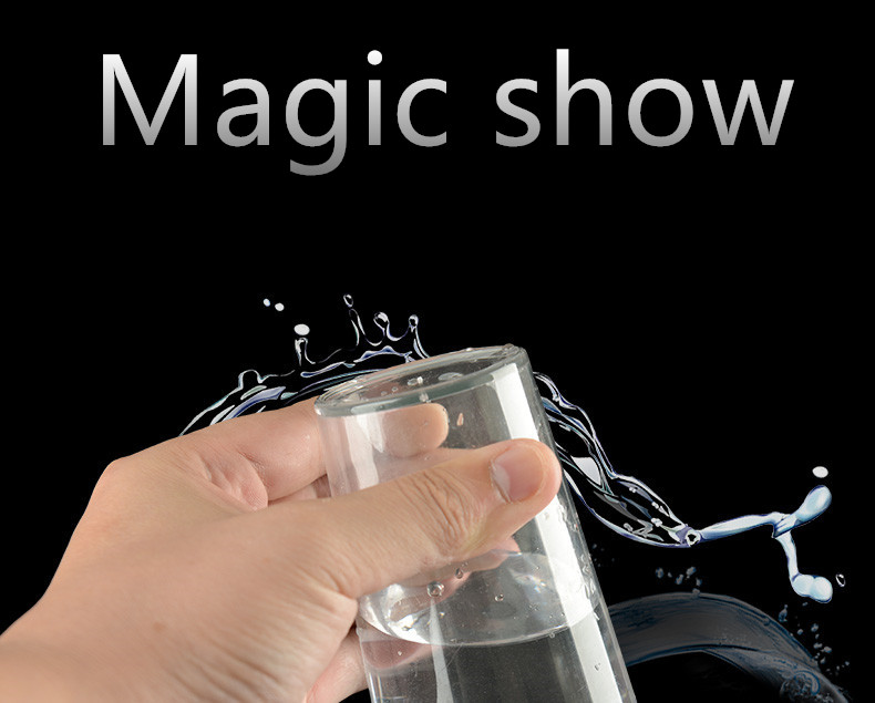 1pc Magic Trick Cup Props Water Upside Down Will Not Flow Out Spoof Toy Halloween Party Close-up Performance