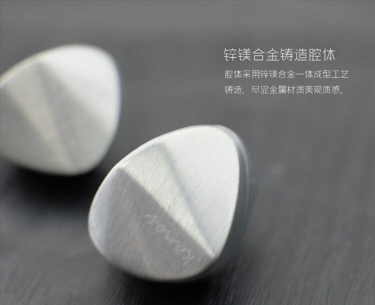 Newest Fashion Moondrop Kanas Diamond Zinc Magnesium Alloy Dynamic HIFI In Ear Earphone HIFI Monitor Earphones Earplug Earbud
